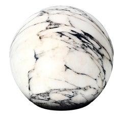 Tattoo Carrara Marble Pouf by Maurizio Galante and Tal Lancman