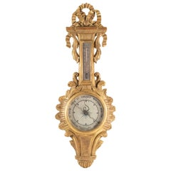 Barometer Louis XV Style from the 19th Century, Napoleon III Period