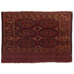 Antique Turkoman Rug, circa 1880