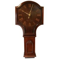 Mahogany Tavern Wall Clock