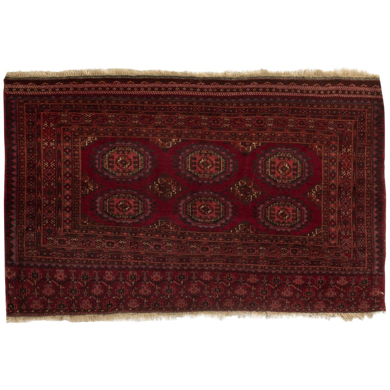 Antique Turkoman Rug: Antique Turkoman Rug, Circa 1880 For Sale At 1stdibs
