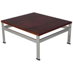France & Son Side Table or Lamptable, Rosewood and Steel, 1970s