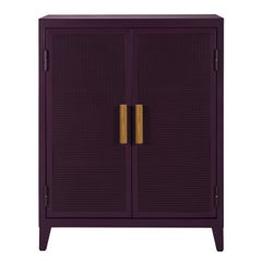 B2 Perforated Low Locker in Pop Colors by Chantal Andriot and Tolix