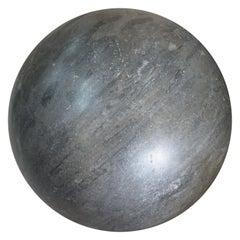 Italian Black Marble Sphere