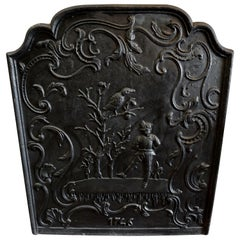 Large Antique Fireback