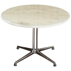Eames La Fonda Marble Coffee or Side Table, Herman Miller, Midcentury Vintage
