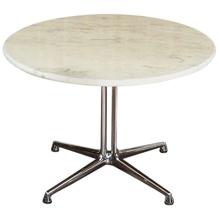 Eames La Fonda Marble Coffee Or Side Table, Herman Miller