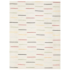 Schumacher Salda Area Rug in Handwoven Wool by Patterson Flynn Martin