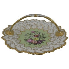 Flight Barr and Barr Worcester Porcelain Card Tray, circa 1815