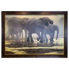 "Limited Edition ""By The River"" by Robert Bateman"