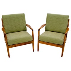 Pair of DUX Lounge Chairs, Folke Ohlsson for DUX of Sweden