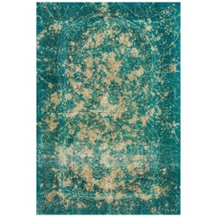 Schumacher Trifid Jade Area Rug in Hand Knotted Wool by Patterson Flynn Martin