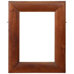 19th Century Italian Cherrywood Frame