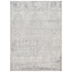 Schumacher Vega Area Rug in Handwoven Silk by Patterson Flynn Martin
