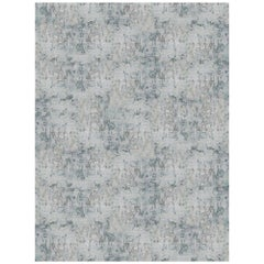 Schumacher Winterscape Area Rug in Hand Knotted Wool & Viscose by Patterson Flyn