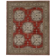 Schumacher Amritsar Area Rug in Hand-Tufted Wool by Patterson Flynn Martin