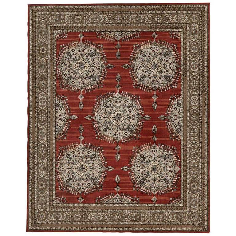 Amritsar Area Rug In Hand Tufted Wool