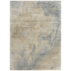 Schumacher Cumulae Area Rug in Hand Knotted Wool & Silk by Patterson Flynn Marti