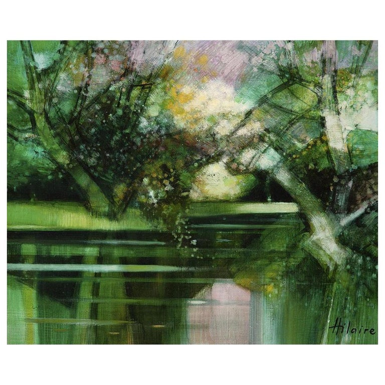 "Camille Hilaire ""L'etang"" For Sale"