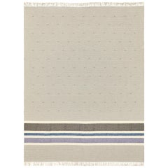 Schumacher Modesto Area Rug in Handwoven Cotton & Wool, Patterson Flynn Martin