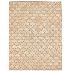 Schumacher Fan Area Rug in Handwoven Abaca by Patterson Flynn Martin
