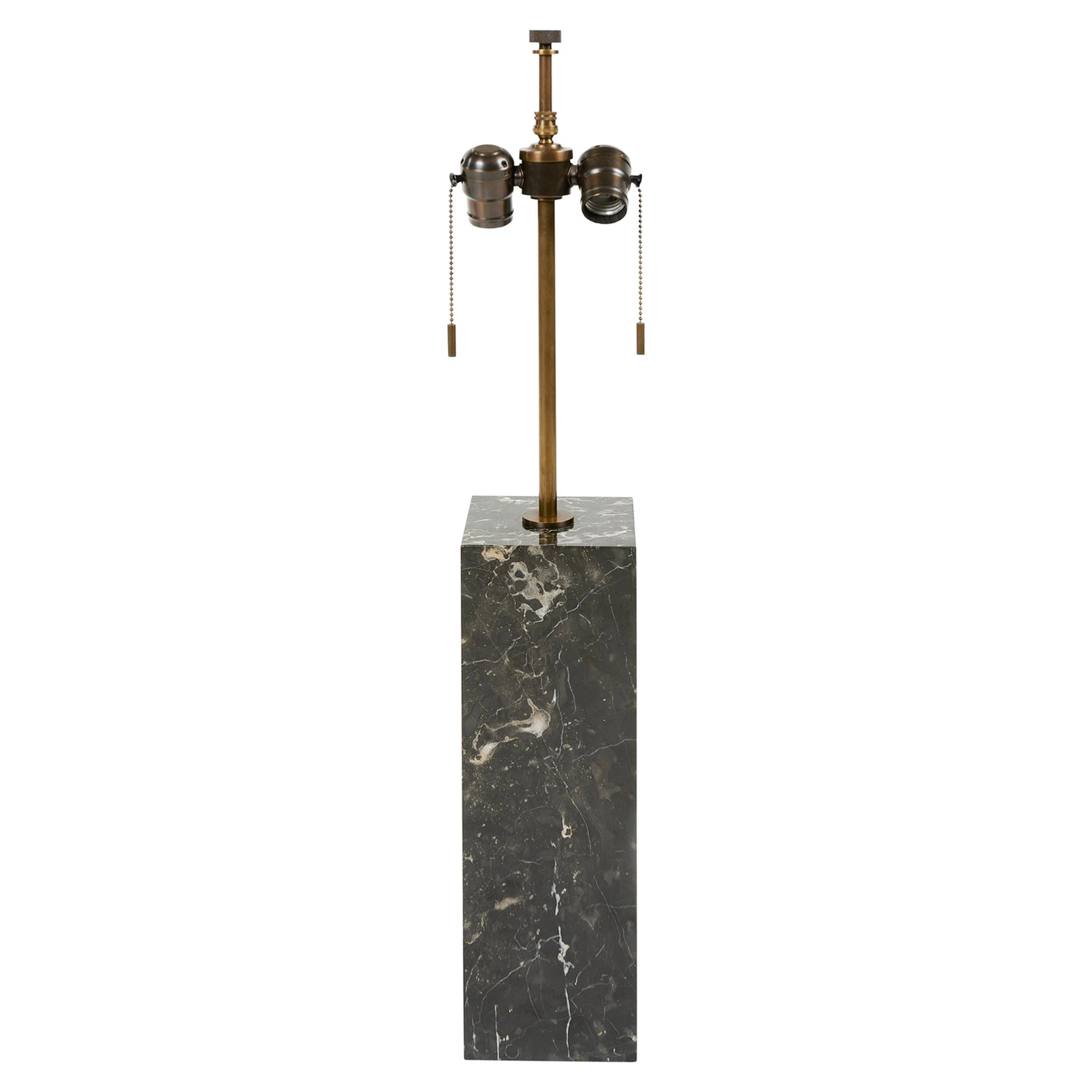 Marble Block Lamp by T. H. Robsjohn-Gibbings for Hansen