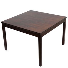 Haug Snekkeri Scandinavian Midcentury Rosewood Coffee Table