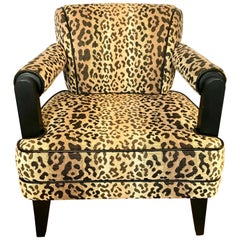 Larry Laslo for Directional Leopard Lounge Chair