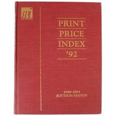 Print Price Index 92: 1990-1991 Auction Season by Peter Falk