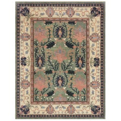 Mansour Handwoven Arts & Crafts Donegal Rug
