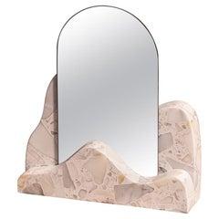 Marble Countertop Mirror, Dune