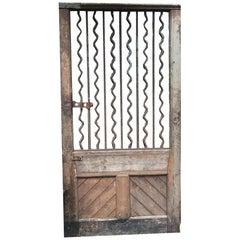Wood and Iron Door
