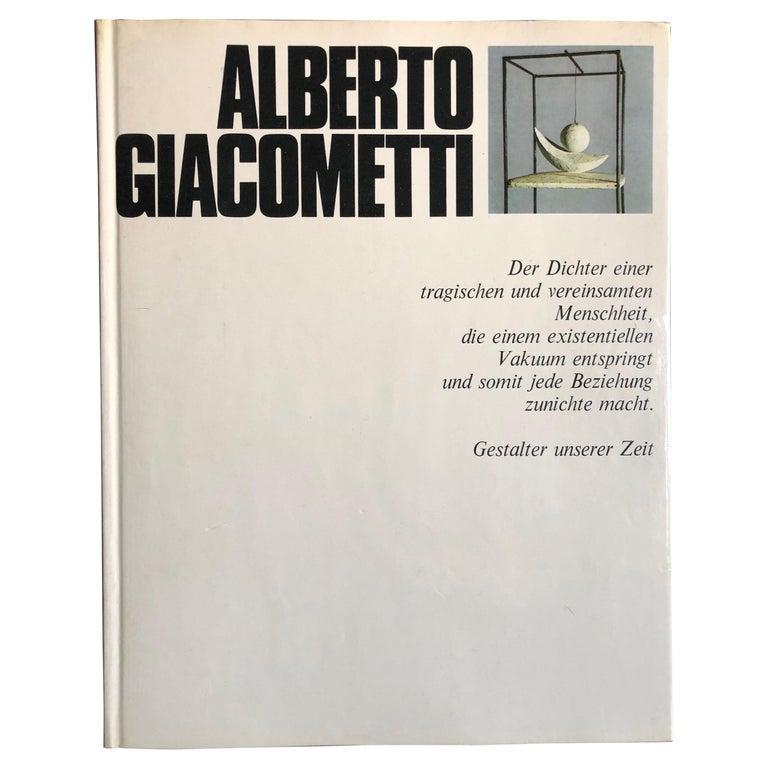 Alberto Giacometti by Arturo Bovi Album, Switzerland 1974 For Sale