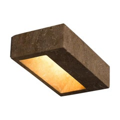 Marble Wall Lamp, Block Wall