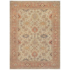 Mansour Quality Persian Handwoven Agra Rug