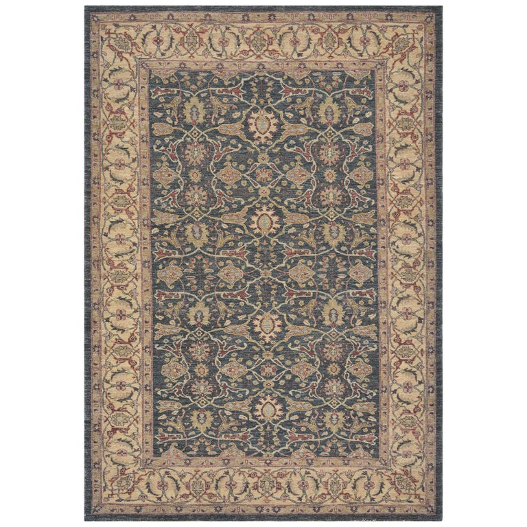Mansour Handwoven Agra Rug For Sale At 1stdibs