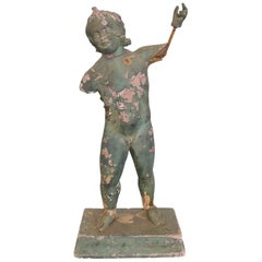 Italian 19th Century Terracotta Putti Fragment