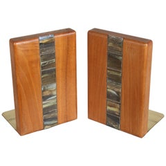 Jane and Gordon Martz Bookends for Marshall Studios