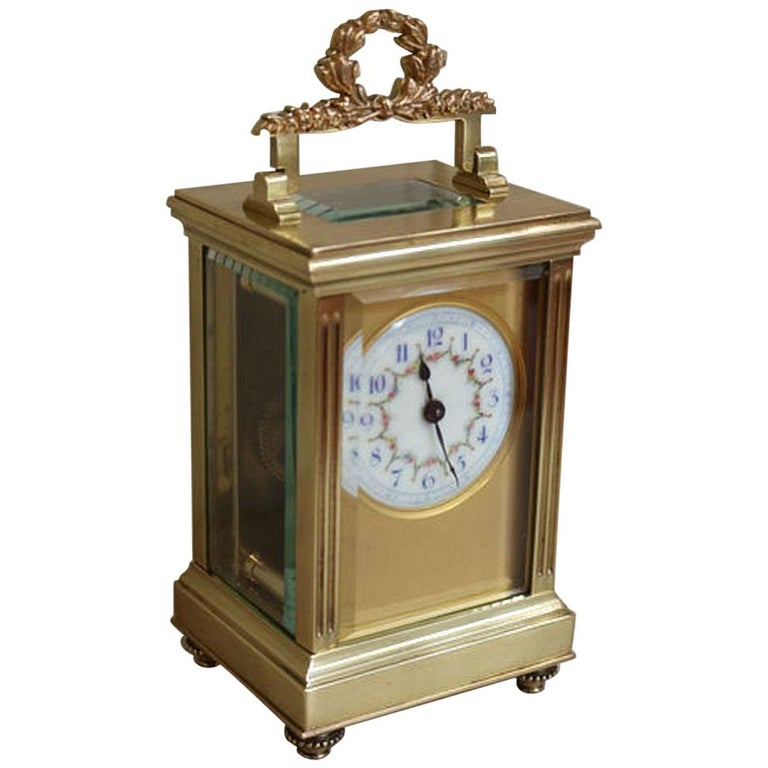 French Empire Carriage Clock For Sale