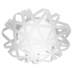 Leucos X Ray P-PL 65 Wall Light in White by Paolo De Lucchi w/ Giorgia Paganini