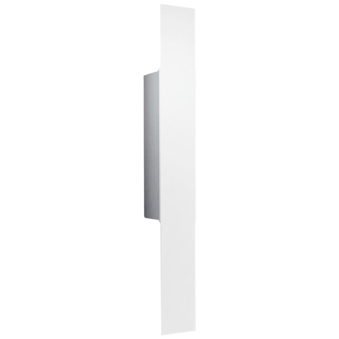 Leucos Opi P Wall Light in Matte White by Alessandro Piva