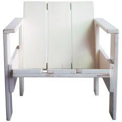 Gerrit Rietveld Prewar Crate Chair for Metz & Co., 1934
