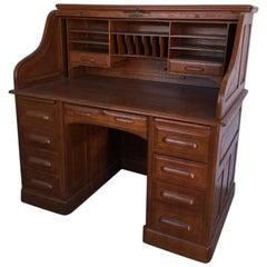 English Desk Oak Wood