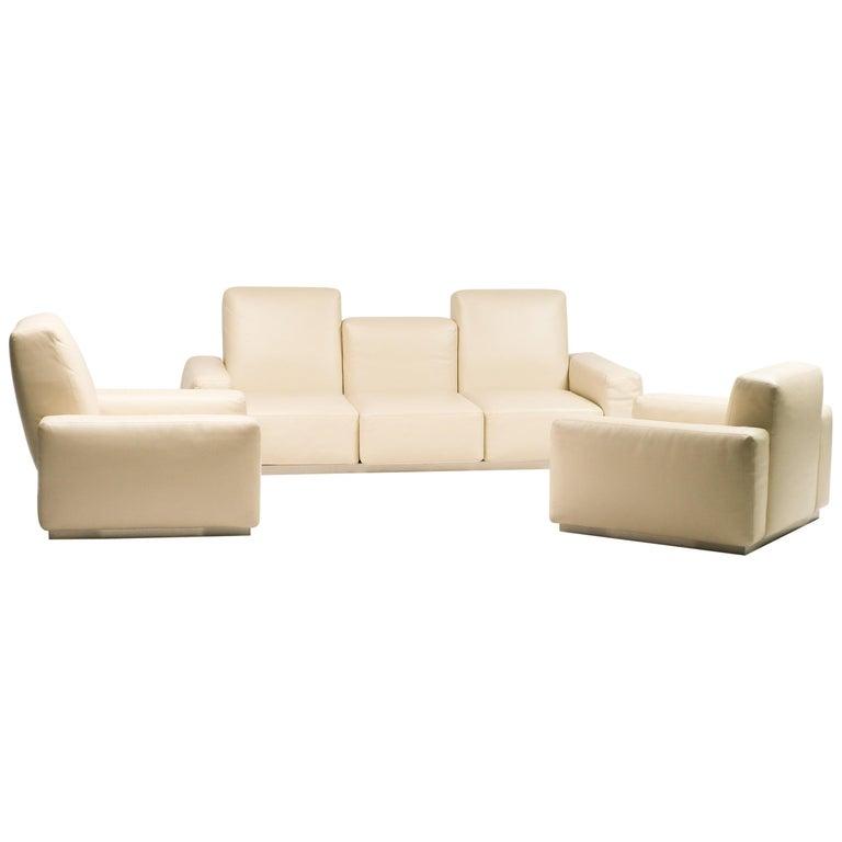 """Zanotta """"Upndown"""" Living Room Set For Sale"""