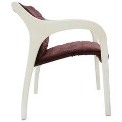 'Vivalda' Velvet Armchair by Claudio Salocchi for Sormani, 1960s