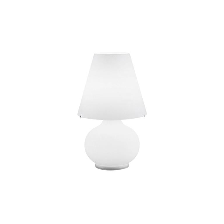 Leucos Paralume T Mini Table Light in Satin White by Design Lab