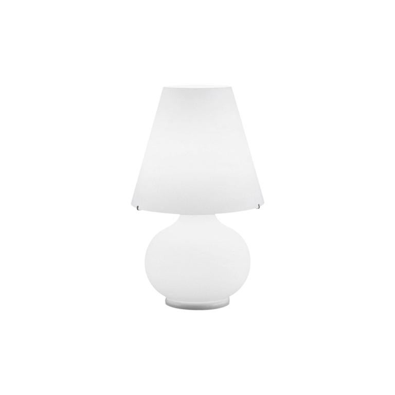 Leucos Paralume T Bedside Table Light in Satin White by Design Lab For Sale