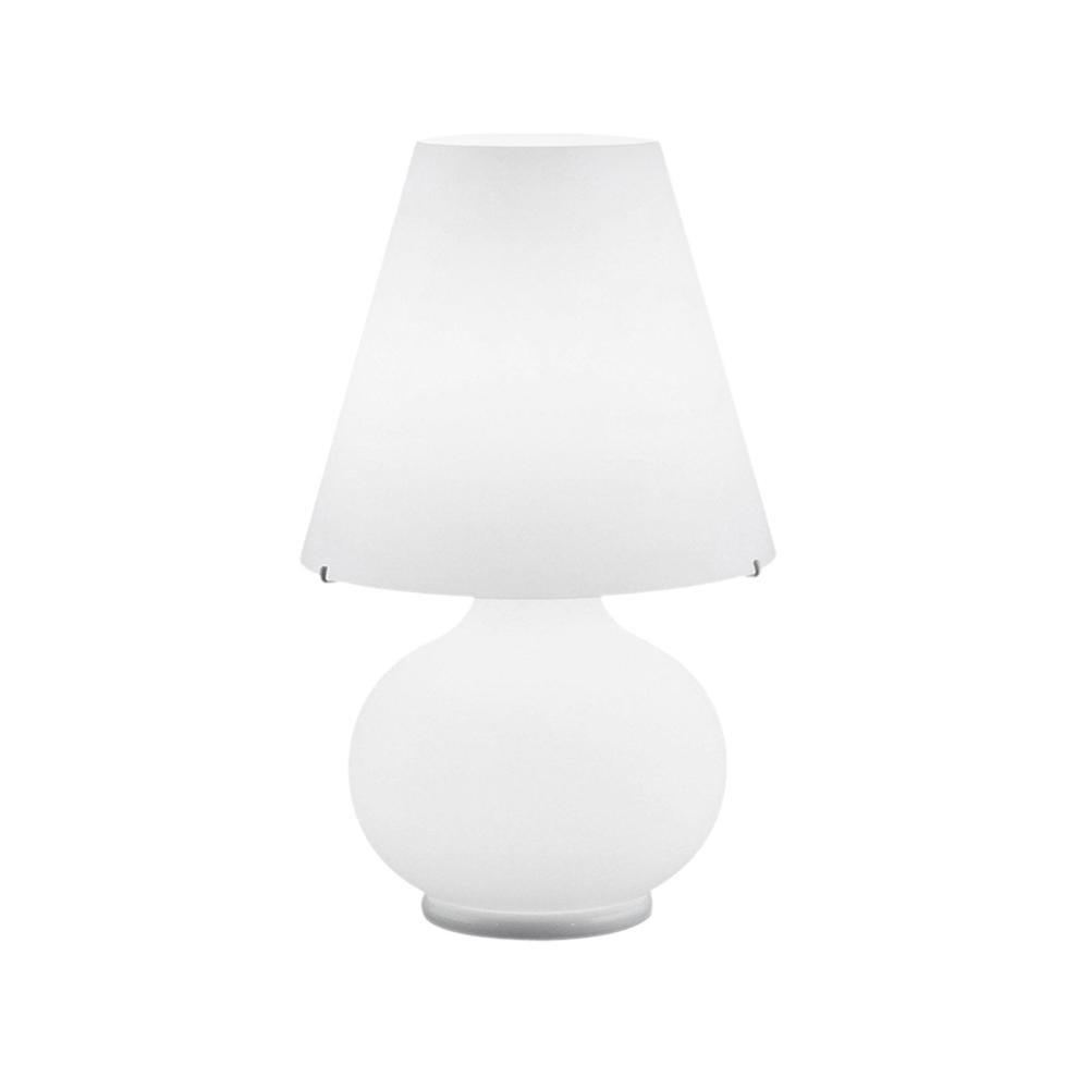 Leucos Paralume T Medium Table Light in Satin White by Design Lab