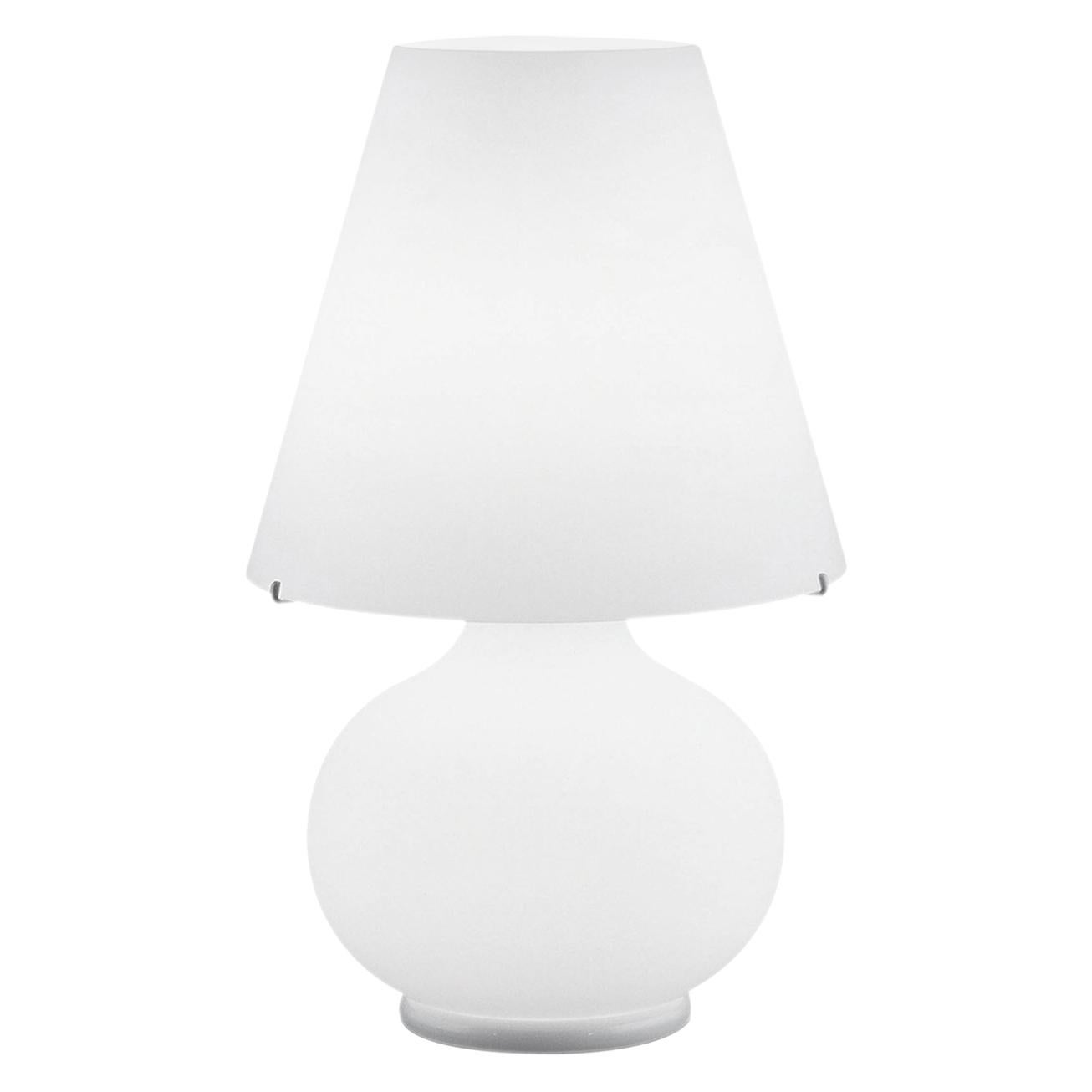 Leucos Paralume T Big Table Light in Satin White by Design Lab