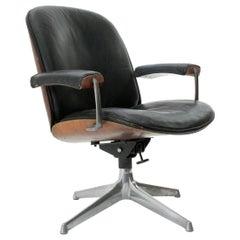 Office Chair by Giuseppe Zammerini for MIM, 1960s